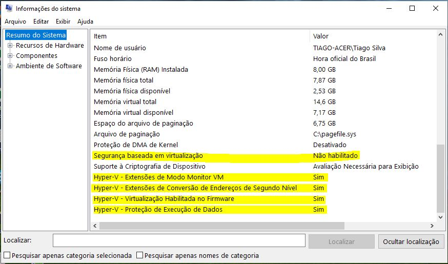 Resolvendo Problemas de Virtualização no Windows 10